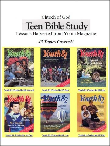 youth bible study lessons pdf